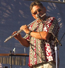 Dale Fuentes on flute, like no other in the world.
