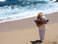 Greg Murat with guitar Cabo San Lucas