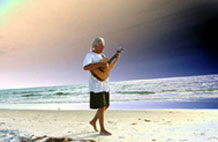 Greg Murat Clearwater Beach with guitar